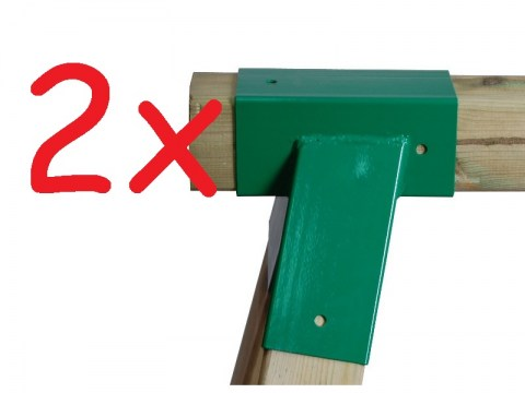 A frame swing set brackets swing corner bracket for climbing frame hardware metal DIY climbing frame A Frame