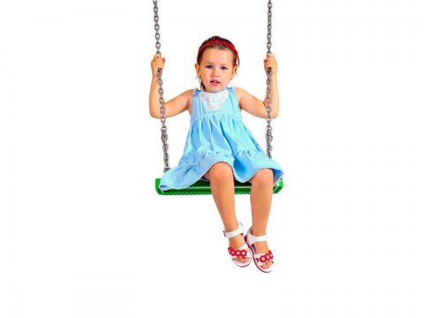 commercial heavy duty rubber single seat with chains chainset swing seat with aluminium insert for swing set climbing frame