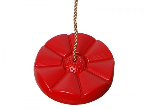 red disc swing seat